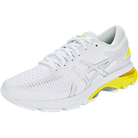 asics Gel-Kayano 25 Shoes Women White/Lemon Spark